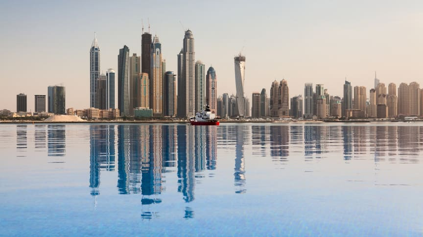 Downtown Dubai, home to Blueair's hub office for its operations across the GCC (Gulf Cooperation Council). (Copyright: iStock/Credit: CaptureLight)