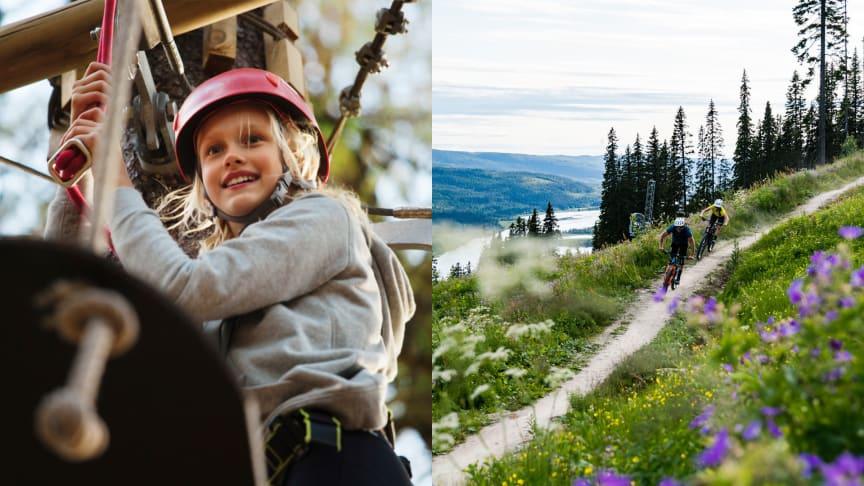 Aktivitetsboom hos SkiStar: 85 000 besökare i sommar