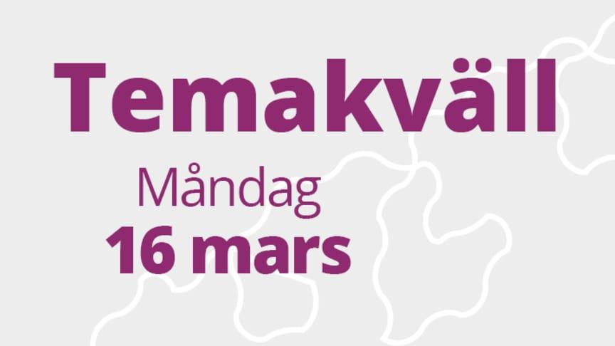Temakväll - När minnet sviker, en kväll där Skellefteå kommuns olika stödfunktioner och föreningar finns på plats för att berätta om vilket stöd som personer med kognitiv svikt (demens) och deras anhöriga kan få.
