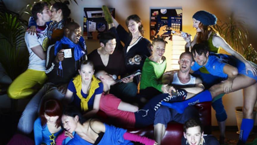 Premiär nu på lördag av Hemma hos på Skånes Dansteater