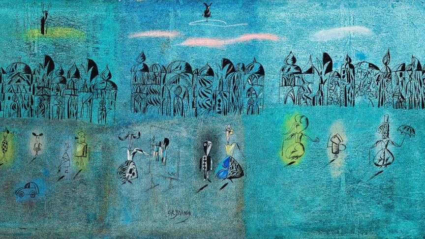 Utställning: Madeleine Pyk - Drömmen om att flyga