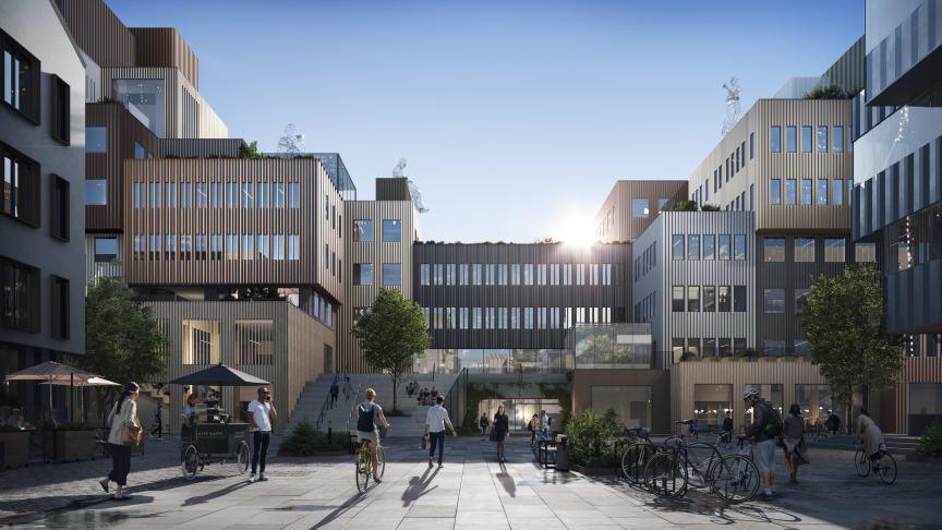 AstraZeneca kommer att hyra 700 kvadratmeter i GoCo House, som kommer vara färdigställt i början av 2023