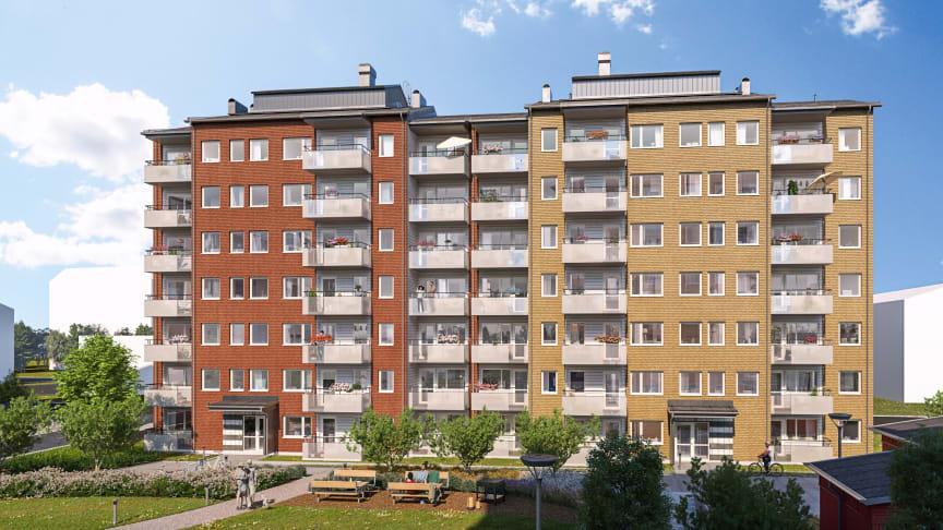 Inom kort startar Riksbyggen uthyrningen av 182 lägenheter i Berga Park.