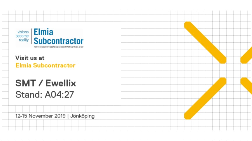 Come and visit Ewellix in stand no A04:27 to see the latest linear motion products.