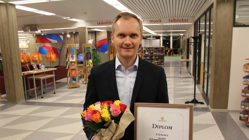 Löfbergs won environment and climate award