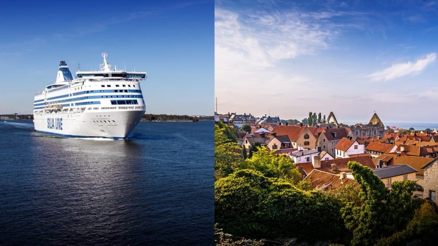 Tallink Silja börjar trafikera Stockholm-Visby