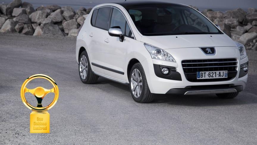 Peugeot 3008 HYbrid4 flerfaldigt prisad