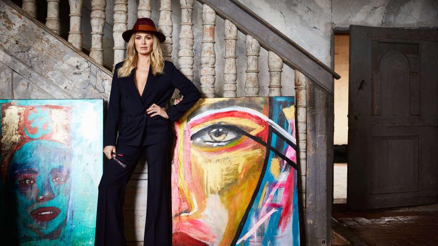 Carolina Gynning ansluter till influencernätverket United Screens. Fotograf: Magnus Ragnvid