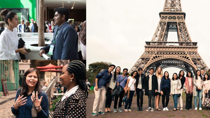 Go Green in the city er en global studentkonkurranse. Her fra 2016