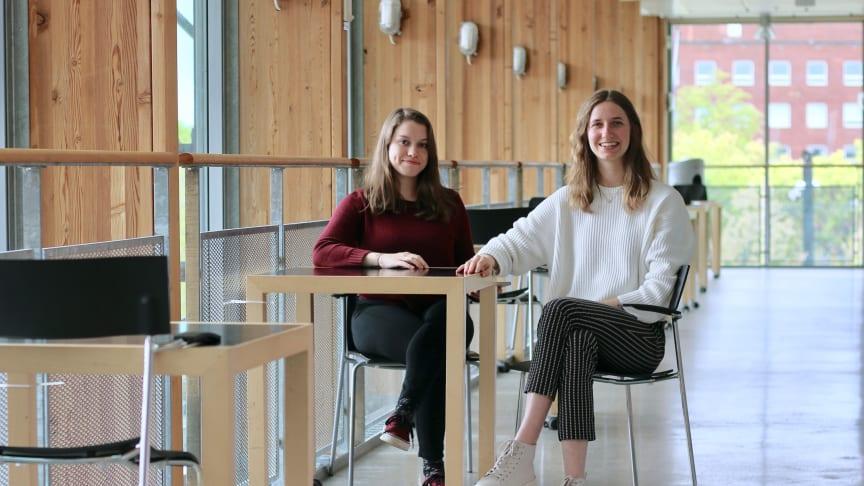 Elisabeth Langer och Lisa Laugs har som exeamensarbete på Ingvar Kamprads Design Center tagit fram en lösning för att skörda regnvatten för hyresgäster i bostadsområden
