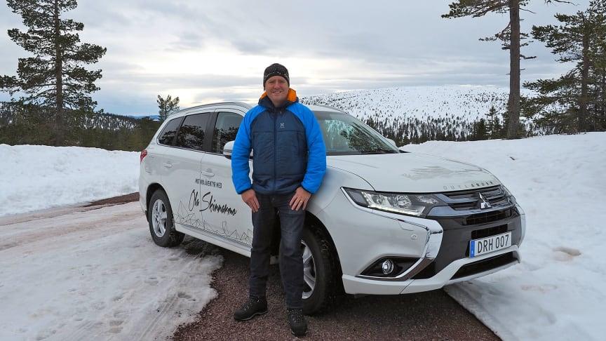 Mitsubishi ingår samarbete med Ola Skinnarmo