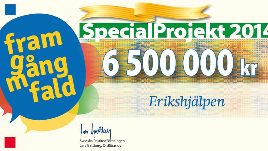 Miljoner till Erikshjälpens arbete för mångfald