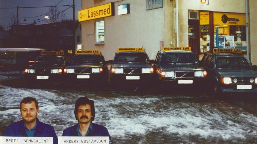 SafeTeam grundades på Hisingen 1968.