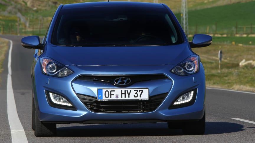 Lyse utsikter for gjenkjøpsverdi på Hyundai i30 i Europa