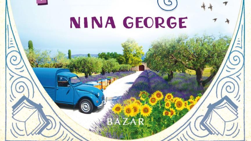 Framsidesbild Den lilla bokbussen i Provence