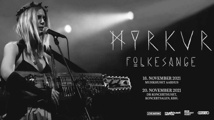 Myrkur kommer til to af landets smukkeste koncertsale med sit nyeste album 'Folkesange'.