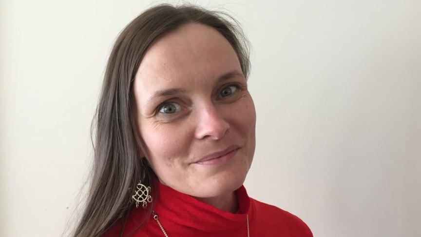 Inga Marja Steinfjell. Foto: Samisk arkiv.