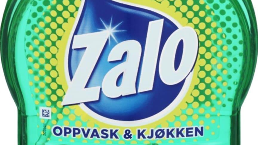 Orkla kaller tilbake et mindre parti grønn Zalo Oppvask & Kjøkkenspray