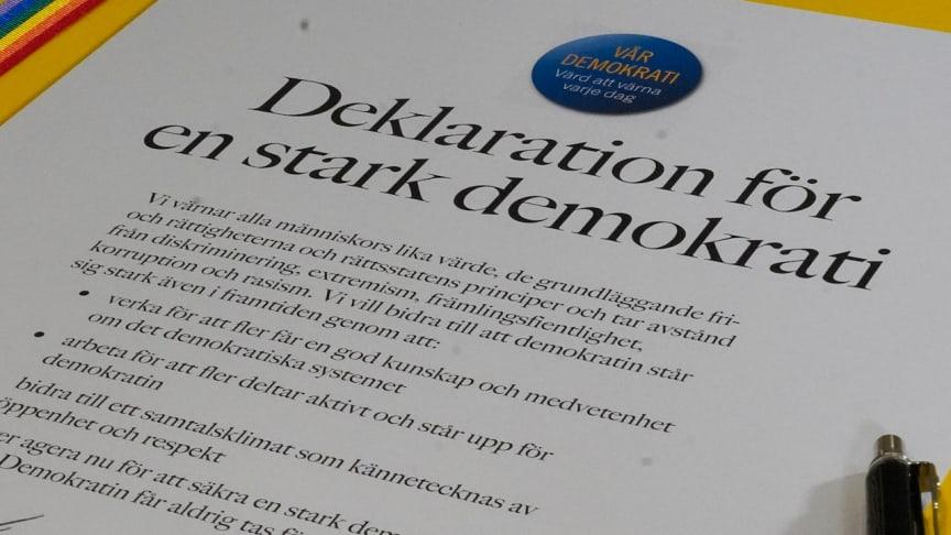 Unikt pris i lokal demokrati-tävling: Prova på att vara beslutsfattare i Lindesberg