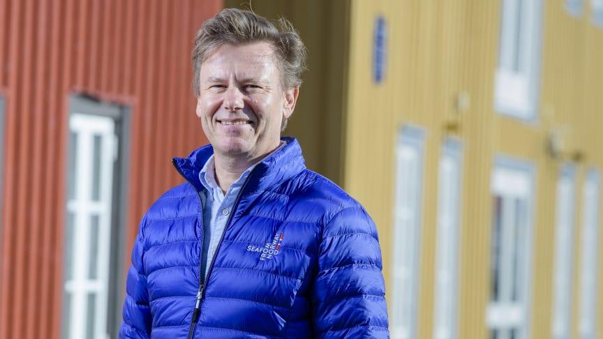 Trym Eidem Gundersen blir ny Norden-sjef i Sjømatrådet. Foto: Lars Åke Andersen