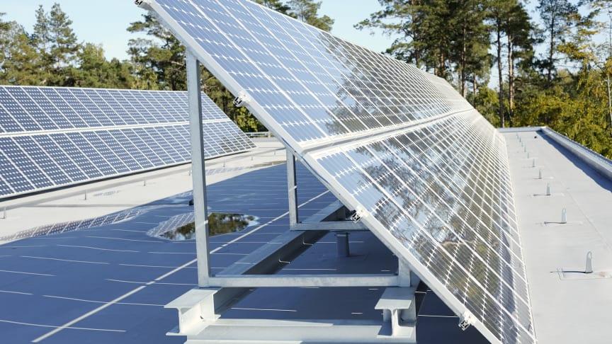 Jättesatsning på solceller i Uppsala