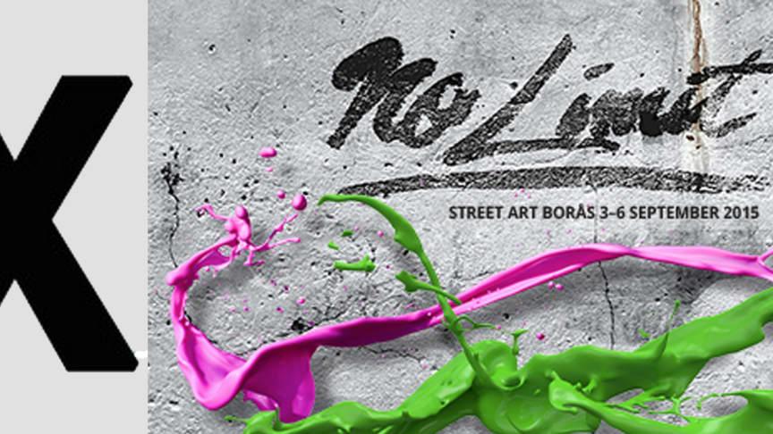 Brooklyn Street Art to cover No Limit Borås