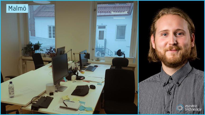 Simon Wallin - Mjukvaruutvecklare på Eyevinn