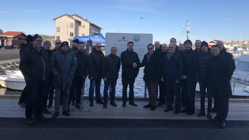 Wärtsilä Corporation handed over the SEABIN donation to Donsö.