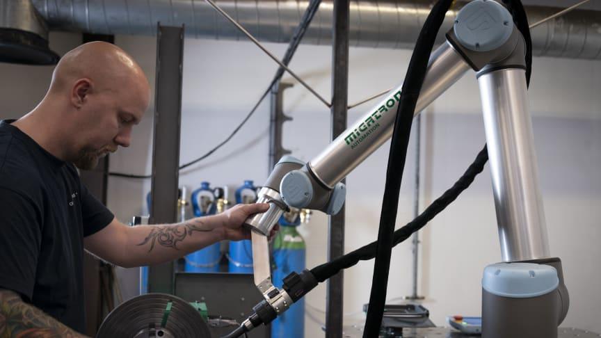 Migatronic Automation ställer i år ut på Elmia Automation för första gången.