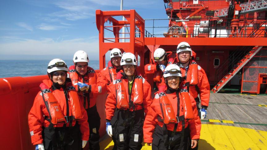'Esvagt Njord' fik besøg fra Equinors topchef.