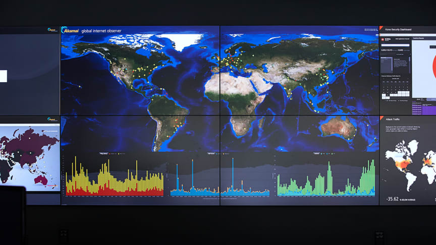 Threats come from anywhere. Akamai tracks and protects you everywhere.