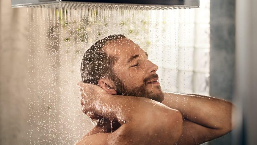 En ny dusch-serie och en innovativ lösning för att hantera många sprutstrålar är bland hansgrohe världsnyheter i år.