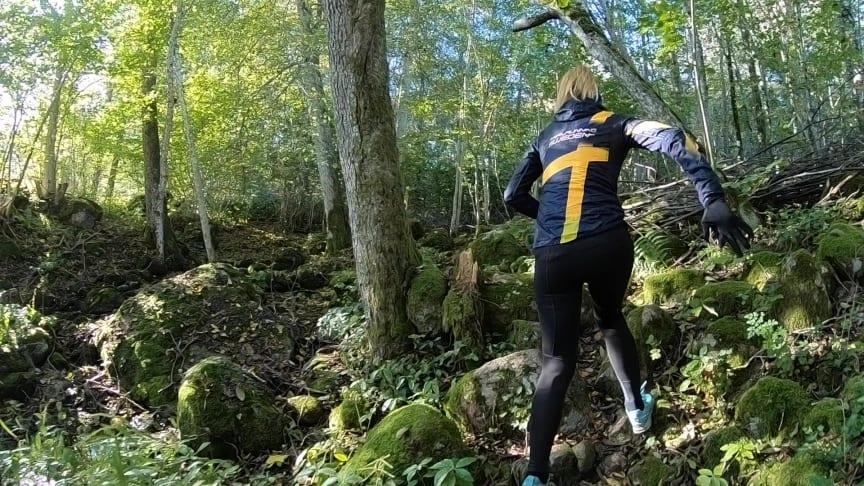 Traillöpning på Billingen blir mer tillgänligt via samarbete mellan Trailrunning Sweden och Billingen Skövde. Foto: Trailrunning Sweden: