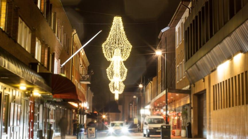 Stad i ljus arrangeras 22 november i Skövde. Foto: Tuana/Next Skövde