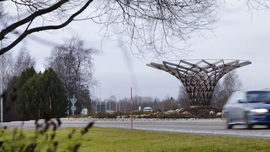 1 juni införs nya hastighetsgränser för Backen och Degeränget Foto: Maria Fäld