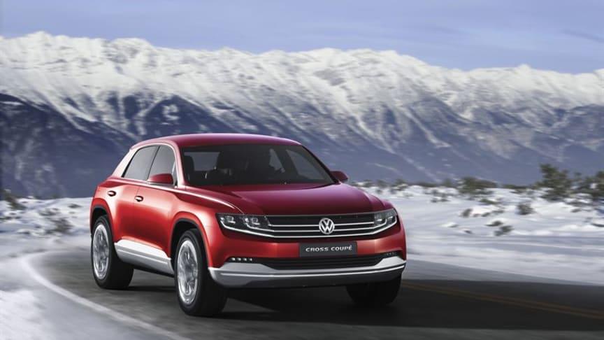 Volkswagen Cross Coupé förbrukar endast 1,8 l/100 km