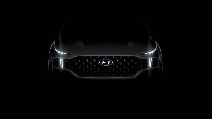 Nye Hyundai Santa Fe. Foto: Hyundai