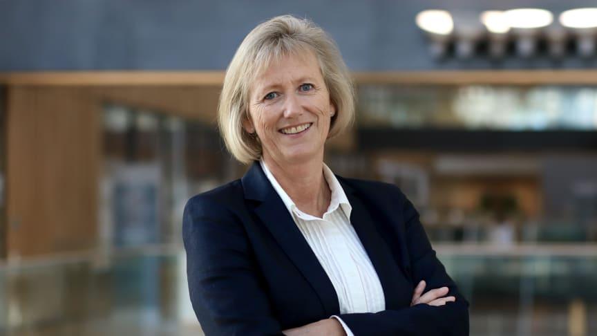 Kutter renten: Konserndirektør for personmarked, Heidi Skaaret.