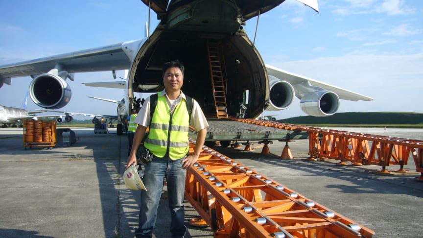 Major Move: Malaysia to Trinidad and Tobago – Part I of III: Transport engineer Edward Wong headed the operation