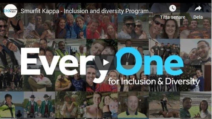 Se filmen om Smurfit Kappas globala inkluderings- och mångfaldsprogram på YouTube