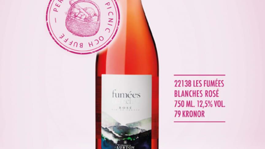 Ny årgång av Les Fumées Blanches Rosé - Nu i butik!