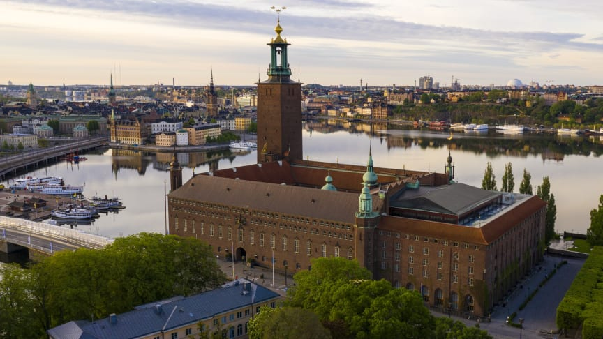 Stadshuset i Stockholms stad.