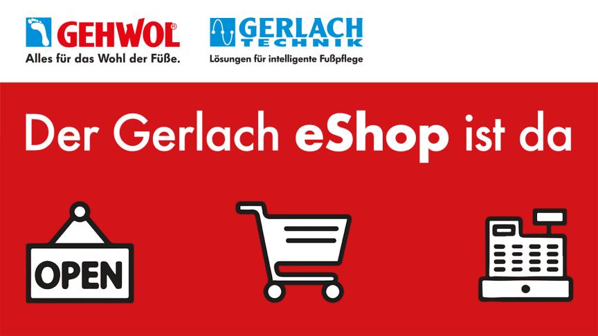 Für Fußpfleger, Podologen und das Apotheken-Team: Der neue eShop von Gerlach. Bild: Eduard Gerlach GmbH