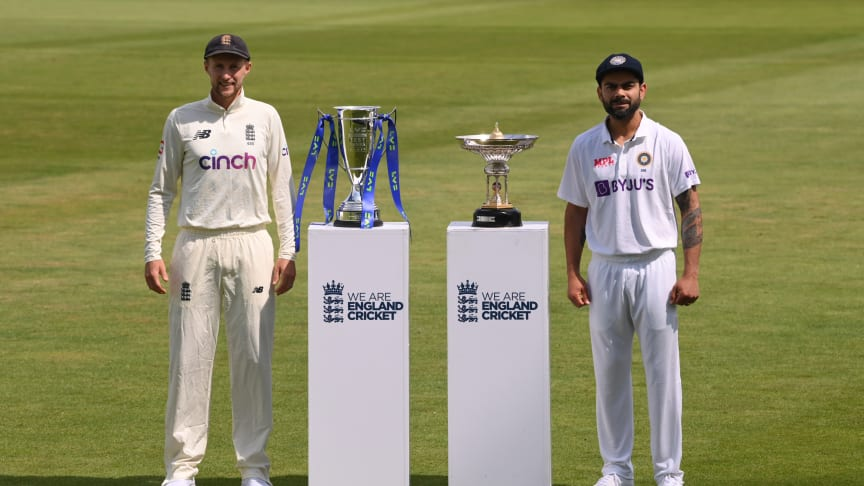 England and India Men to conclude LV=Insurance Test series next year