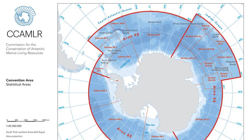 Reservatet är hela 1.5km2, en yta som är ungefär lika stor som Sverige, Finland och Norge tillsammans.