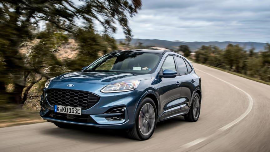Ford Kuga Plug-in Hybrid var den mest solgte personbil i maj.