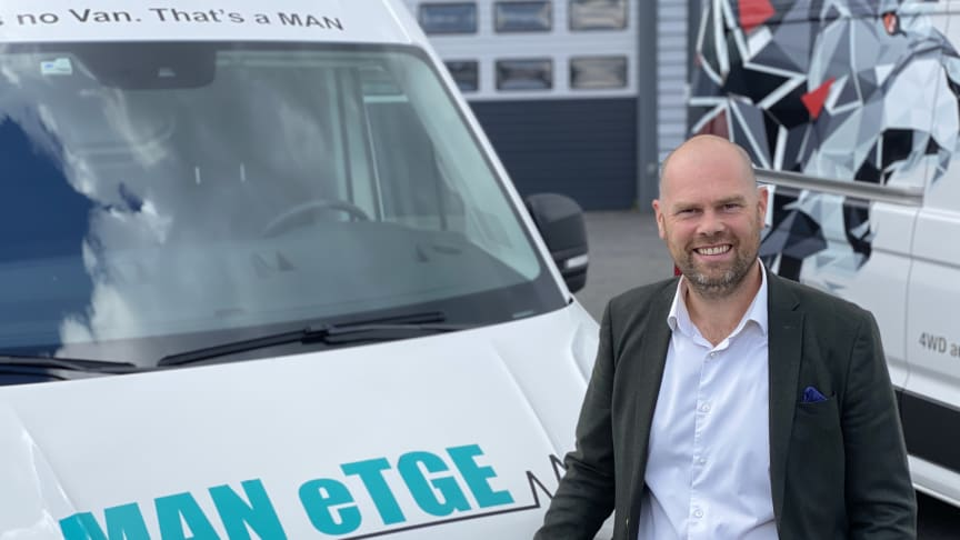 Christian Mundal Hagen er ny salgsdirektør for MAN TGE i Norge