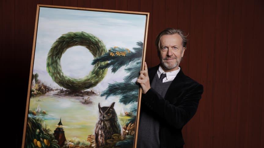 Ernst Billgren har skapat Vasaloppsmotivet 2020