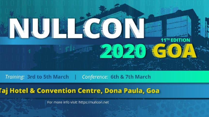 Nullcon Goa 2020