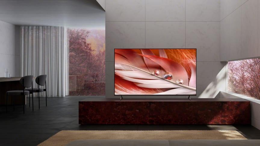 Nu bliver Sony BRAVIA XR X90J Full Array LED-tv med kognitiv intelligens snart tilgængeligt